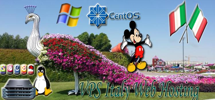 VPS Italy Web Hosting