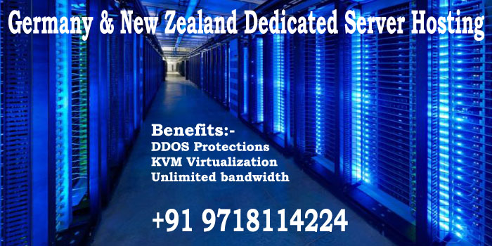Germany & New Zealand are providing you cheap Dedicated Server Hosting at very affordable price