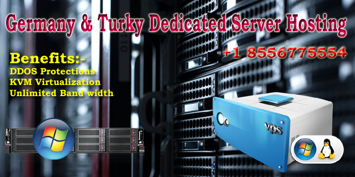 Germany & Turkey Best Dedicated Server Hosting at low price
