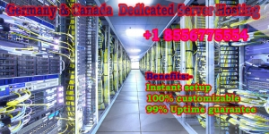 Germany and Canada Deicated Server Hosting plans at low price