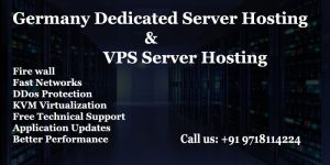 Germany Based Dedicated Server Hosting and VPS Server Hosting Plans