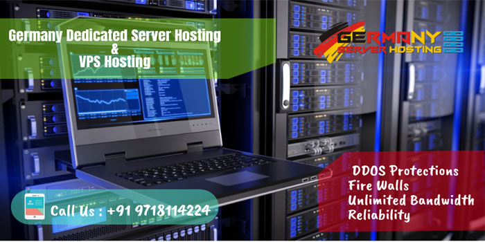 Germany Based Dedicated Server hosting and VPS hosting plans With Scalability